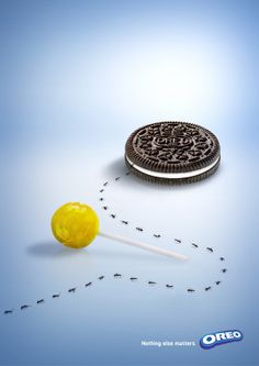 "Oreo ""Nothing Else Matter"" Print Advertisement by Suzanne Lim, via Behance"