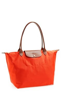Longchamp 'Large Le Pliage' Tote available at #Nordstrom  Would be great for campus!