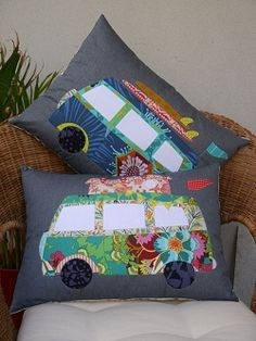 FREE CAMPIN cushion pattern