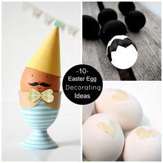 10 Easter Egg Decorating Ideas