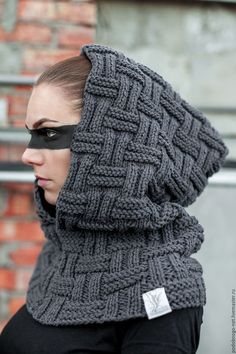News - Sarah Hooded Scarf Pattern, Crochet Hooded Scarf, Crochet Wool, Knit Cowl, Knitting Stiches, Baby Knitting Patterns, Knitting Designs, Kaftan Designs, Knitted Hats