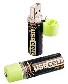 USB-powered rechargeable batteries listed among Travel+Leisure's eco-friendly travel gadgets.