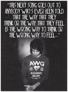 Alexander Gaskarth of All Time Low<3