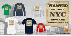 The most wanted - who can help? Choose there: https://www.spreadshirt.de/nyc-wanted-A106113393#/detail/106113393