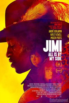 See a trippy poster for Jimi Hendrix biopic 'All Is By My Side' | Inside Movies | EW.com