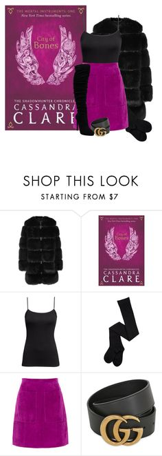 """""""City of Bones - Cassandra Clare"""" by ninette-f ❤ liked on Polyvore featuring Givenchy, H&M, L.K.Bennett and Gucci"""