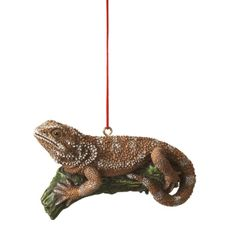 bearded dragon ornament.  This needs to be added to our tree this year.