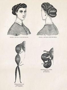 coiffure victorienne longue