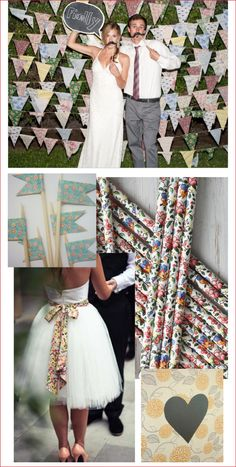 Eclectic floral wedding two