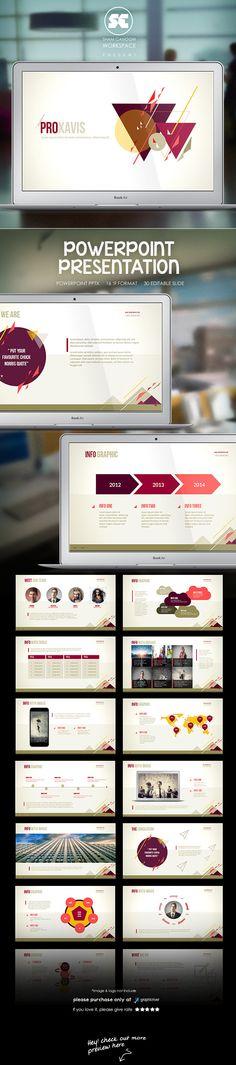 ika - clean and simple keynote template | presentation design, Presentation templates