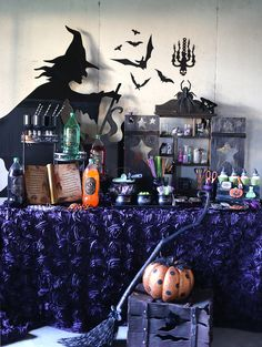 witchcraft halloween witch party