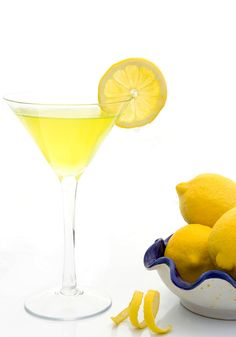 Recipe for the Legends Lemon Drop Martini, courtesy of Oprah Winfrey.