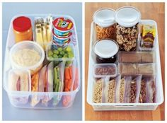 Healthy School Lunches and Snacks for the kiddos!