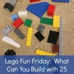 Week #11 Lego Club Fun Friday Challenge: What Can You Build with 25 Bricks? Give it a name and tell us what is is for.