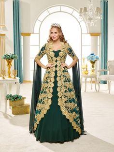 Sardunya - Prenses Yeşil Bindallı 626-D