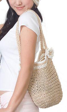 crochet bag pattern by Pierrot