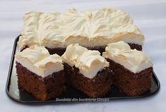 Negresa de post - Bunătăți din bucătăria Gicuței Sweets Recipes, Cooking Recipes, Yams, Sweet Cakes, Biscotti, Cheesecake, Easy Meals, Food And Drink, Healthy