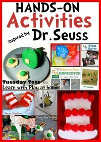 Learn with Play at home: Hands-On Activities Inspired by Dr Seuss