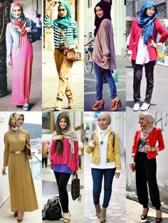 Ways to Tie a Scarf in Many Styles for Different Occasions (Part 2 how to wear a scarf with a woman suit jacket - Woman Jackets and Blazers Suit Jackets For Women, Suits For Women, Modest Fashion, Hijab Fashion, Hijab Stile, Islamic Fashion, How To Wear Scarves, Scarf Styles, Woman Suit