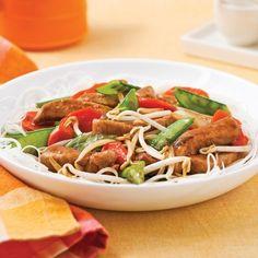 Sauté de veau à l'asiatique - Recettes - Cuisine et nutrition - Pratico Pratique