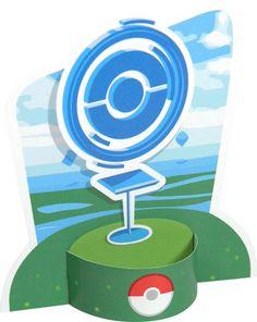 Pokémon GO PokéStop Free Paper Toy Download - http://www.papercraftsquare.com/pokemon-go-pokestop-free-paper-toy-download.html#PokémonGO, #PokéStop