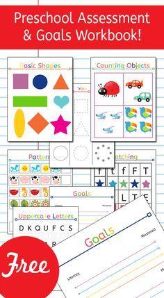 Preschool Assessment & Goals Workbook
