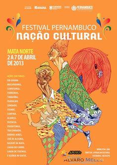 cartazes pernambuco nação cultural goiana - Pesquisa Google