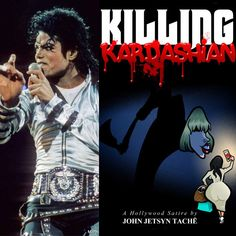 MICHAEL JACKSON makes an appearance in KILLING KARDASHIAN. Available on Mac Books, Amazon, Smashbooks and at killingkardashian.com