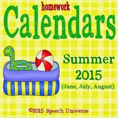 Speech Universe: Homework Hotline: Linky Party!