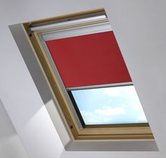 Skylight roller blind from Bloc Blinds. Shop award winning skylight blinds, made to measure all types of roof light brands in wide range of colours and fabrics. Free swatches.