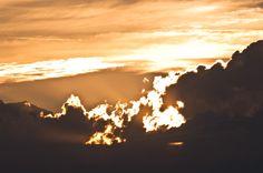 Sunset above MXP
