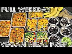 ANOTHER FULL WEEK MEAL PREP - https://www.youtube.com/watch?v=7tPYw9jjhhk In this vegan meal prep video, I attempt to make a full week worth of meals (5 days...