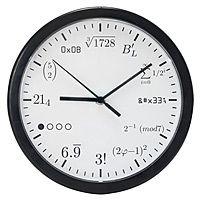 Geek clock (good for math teachers, too)