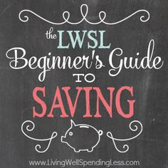 The Beginner's Guide to Saving | How to Stop Spending Money