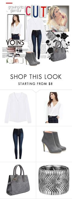 """""""YOINS II / 2"""" by ramiza-rotic ❤ liked on Polyvore featuring Make, women's clothing, women's fashion, women, female, woman, misses, juniors and yoins"""
