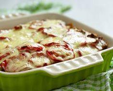 Tartiflette aux tomates à la mozzarella