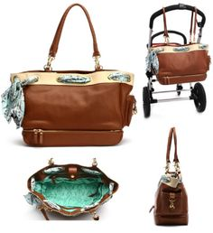Another great diaper bag...the price isn't great though.