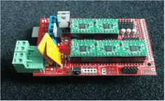 RAMPS 1.4 plus Arduino Mega Combo