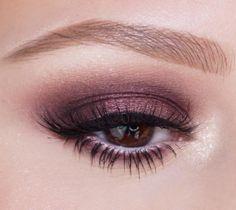 Moody, amethyst smoky eye by using our new Smoky Hazel Eye Makeup, Hooded Eye Makeup, Smokey Eye Makeup, Skin Makeup, Beauty Makeup, Beauty Bar, Beauty Tips, Purple Eyeshadow Looks, Purple Eye Makeup