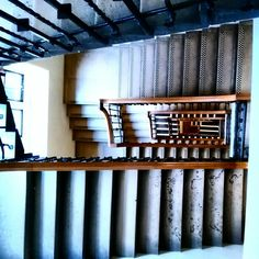 Stairs at the College....