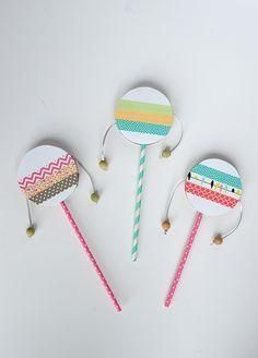 Kids Parties: DIY Musical Instruments
