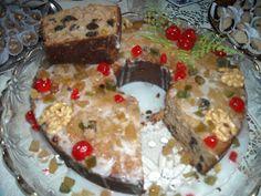 Minhas Tuas Nossas Receitas: Cake de Natal com Maçãs e Nozes