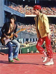 Keith Richards & Mick Jagger (1978)