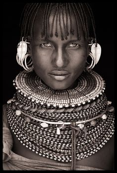 Turkana, Northern Kenya, Portrait by John Kenny
