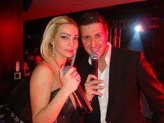 Nour & Mark Abdel Nour singing Valentine's at Qube