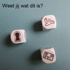 Rory Story Cubes. Opdracht voor kleuters.