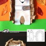 Hedgehog – paper model