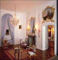 Mulvany and Rogers - Chinese bedchamber of San Souci. The real house in Potsdam, Germany was once the private summer residence of King Frederick II