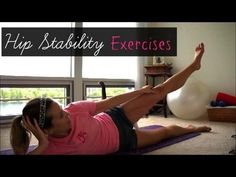 Hip Stability Exercises to prevent ITBS and Runner's Knee ~ Be Your Best Runner