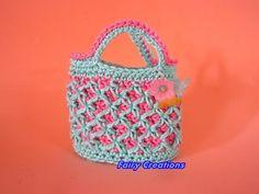 DIY tutorial borsetta crostata, DIY crochet bag - YouTube